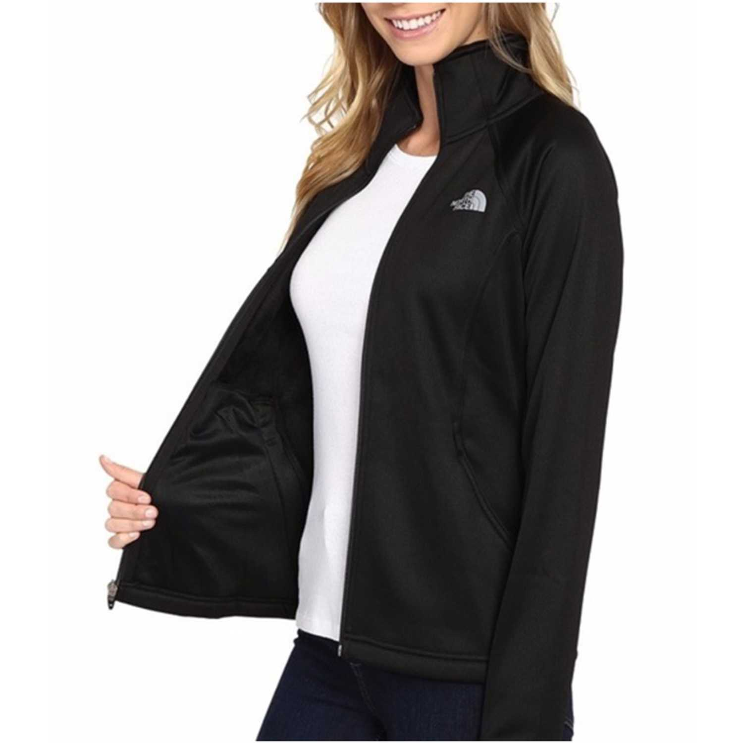 Casacas de Mujer The North Face Negro w agave full zip