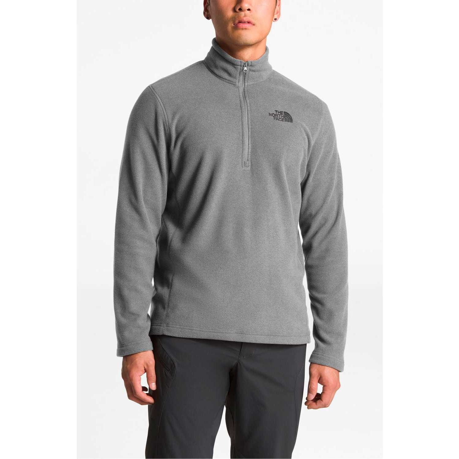 The North Face m tka 100 glacier 1/4 zip Gris Pullovers