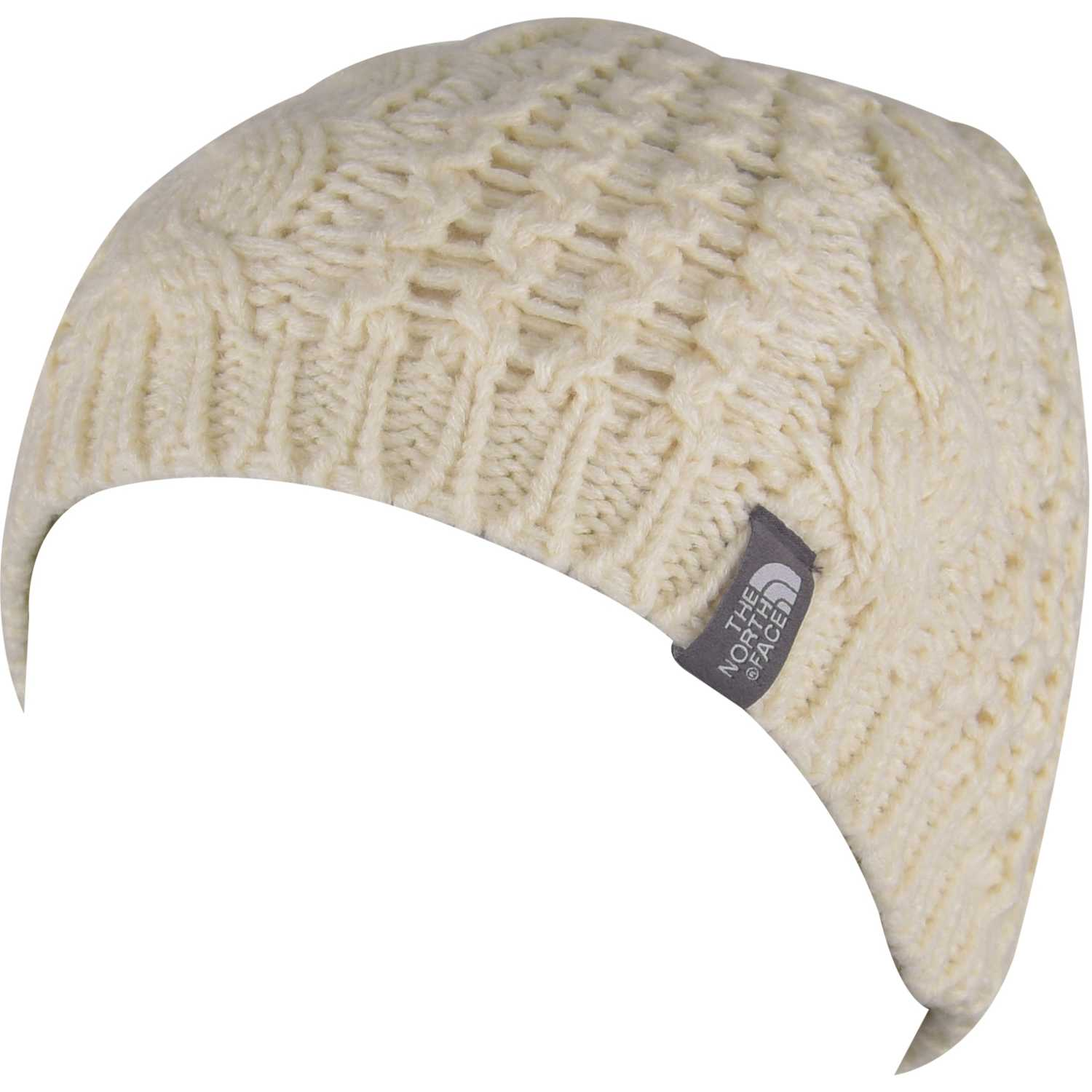 Beanie de Mujer The North Face Beige cable minna beanie