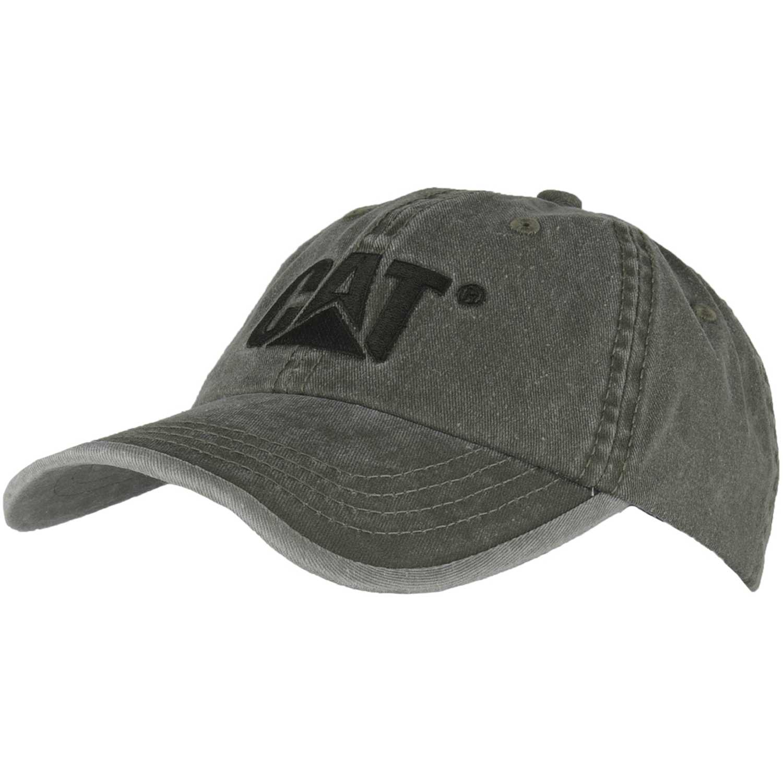 Gorros de Niña CAT Plomo contrast logo hat