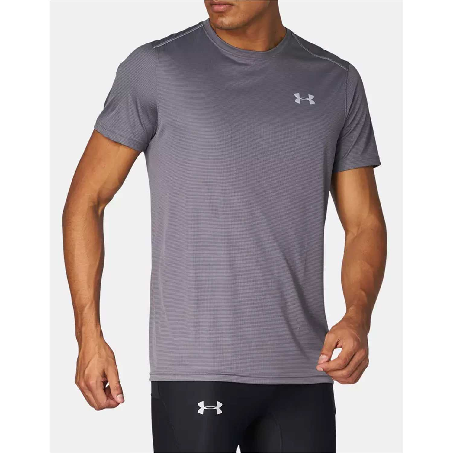 Muñequeras de Mujer Under Armour Gris / plomo ua coolswitch run s/s v2