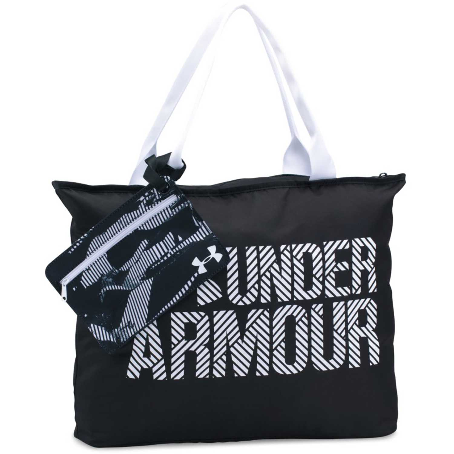 Bolso de Mujer Under Armour Negro / blanco ua big wordmark tote 2.0