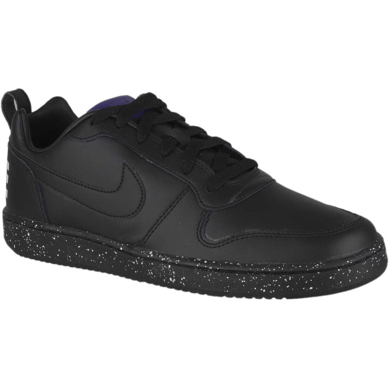 Nike nike court borough low se Negro / blanco Walking ...