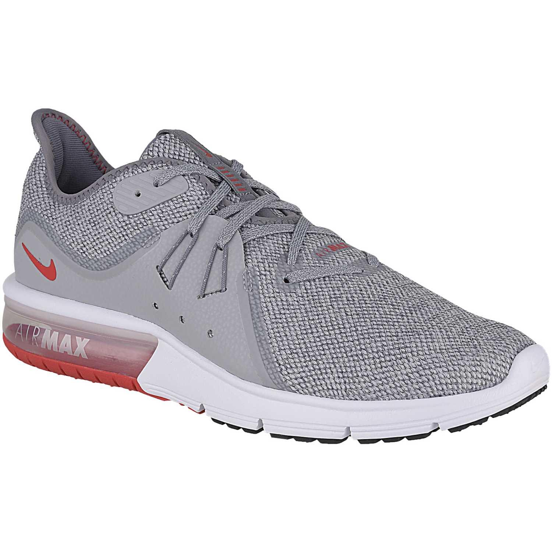 Nike nike air max sequent 3 Gris / blanco Trail Running