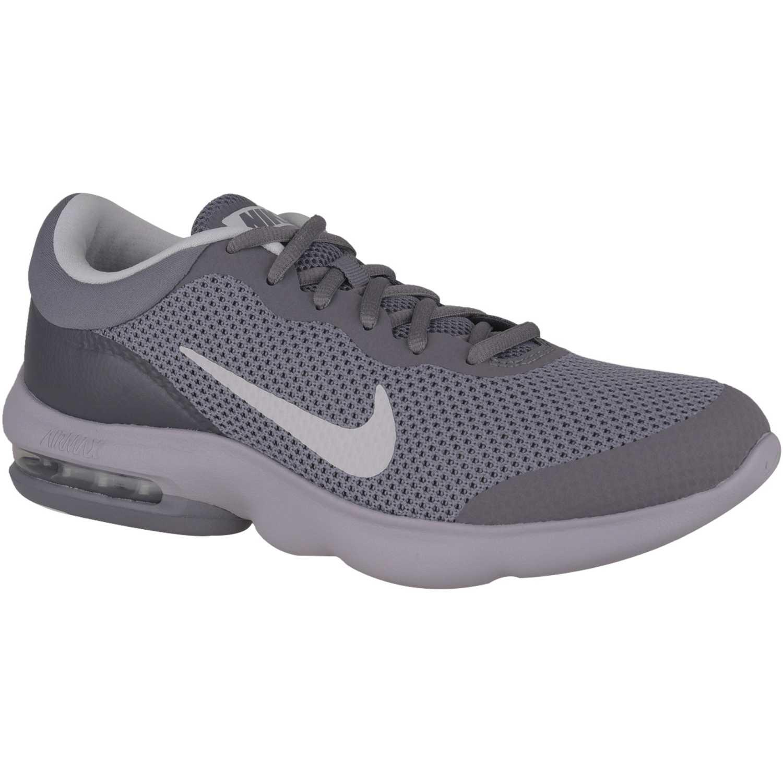 Deportivo de Hombre Nike Gris / blanco air max advantage