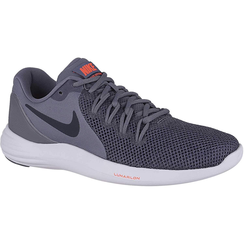 Nike lunar apparent Plomo / gris Running en pista