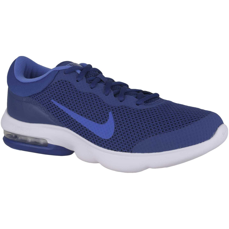Nike air max advantage Azul / azul Running en pista