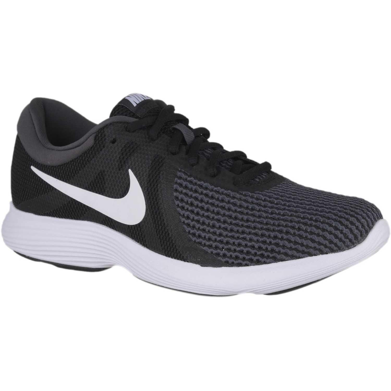 Deportivo de Hombre Nike Negro / blanco nike revolution 4