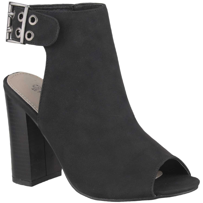 Botínes de Mujer Platanitos Negro sbt 432