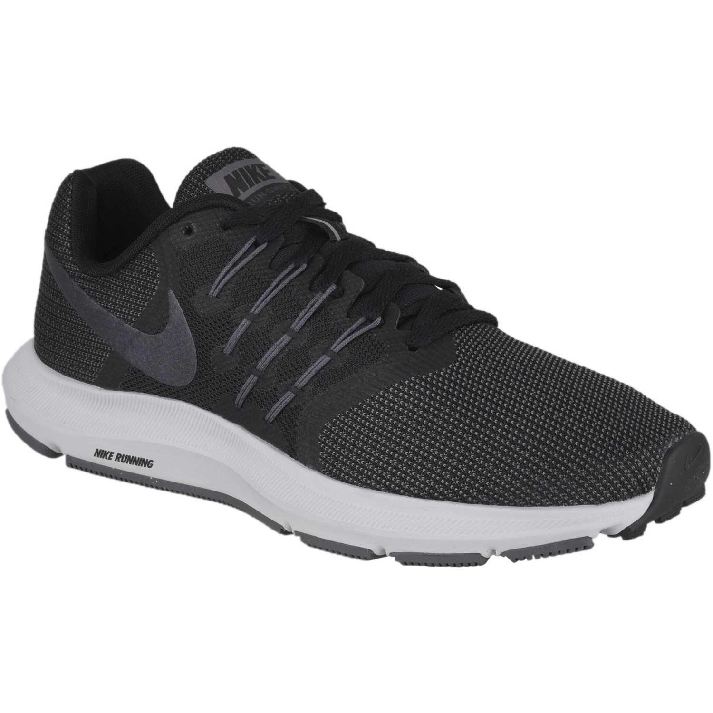 Nike wmns run swift Negro / plomo Running en pista