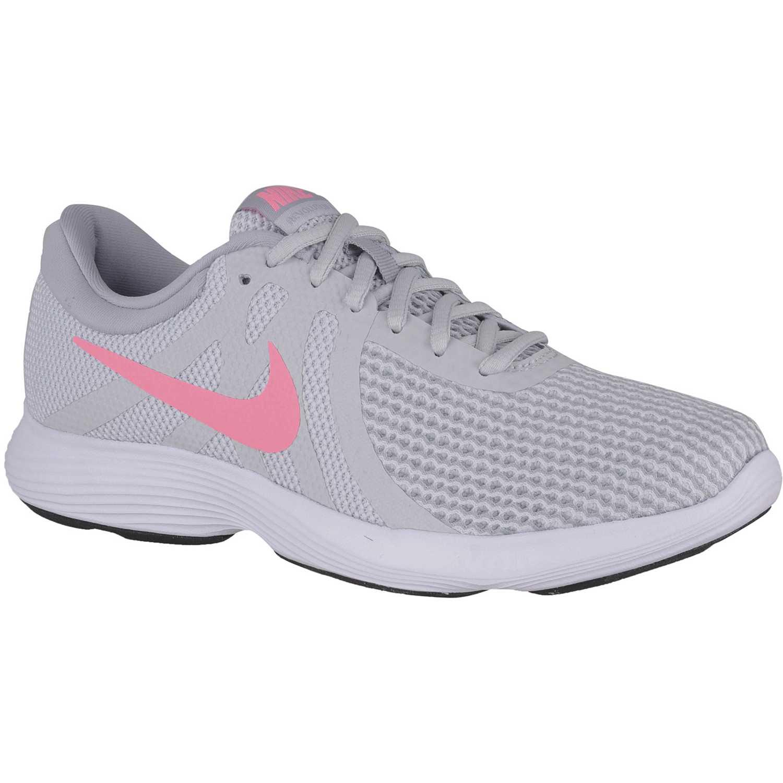 Nike wmns nike revolution 4 Gris / rosado Running en pista