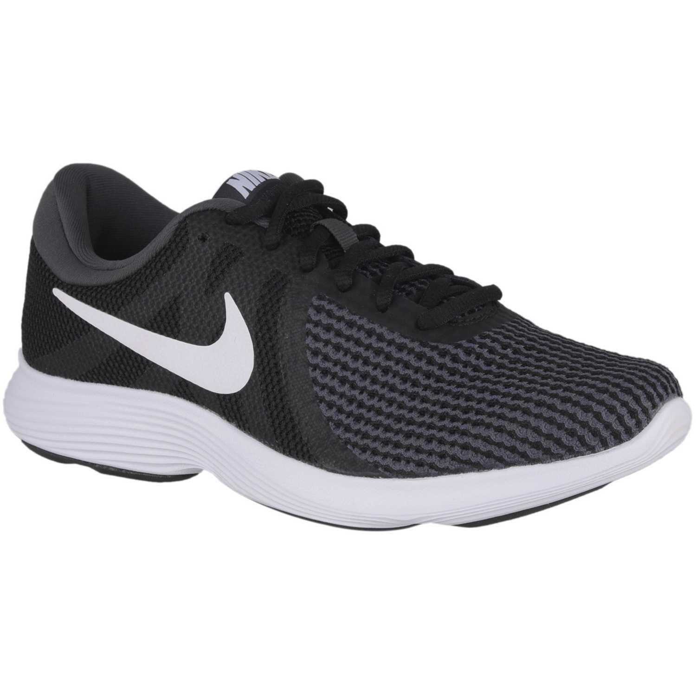 Nike wmns nike revolution 4 Negro / blanco Running en pista