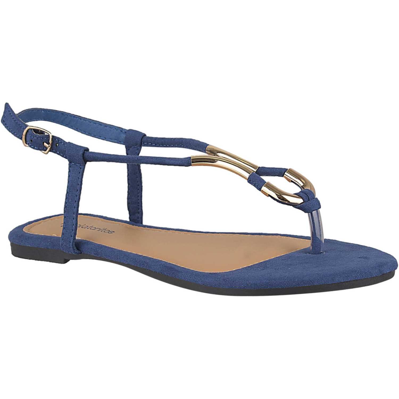 Flat de Mujer Platanitos Azul sf 8930