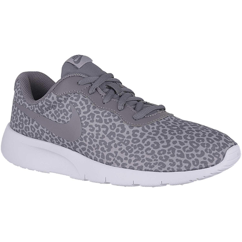 Nike tanjun print gg Gris / blanco Walking