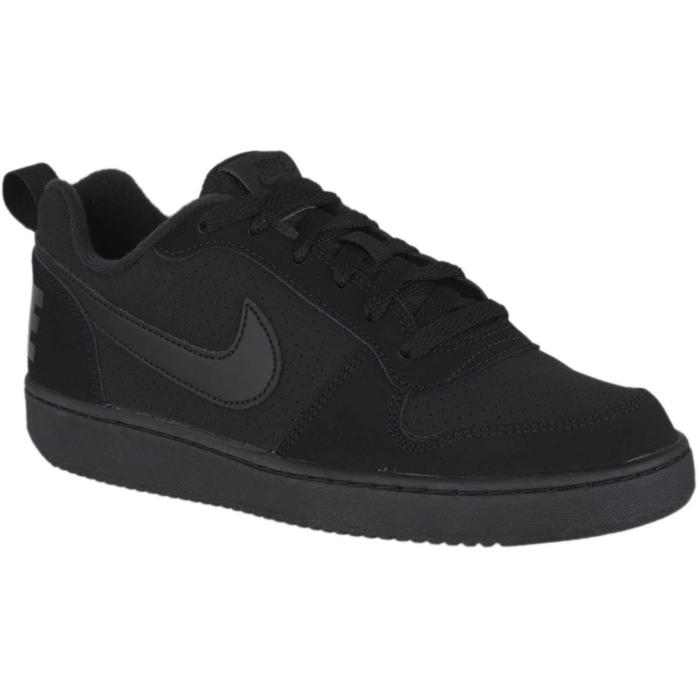 Nike nike court borough low bg Negro / negro Walking