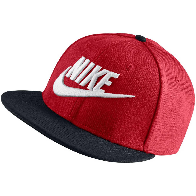 Armonía caminar Bajo mandato  Nike nike true-snapback Rojo / negro Gorros de Baseball   platanitos.com