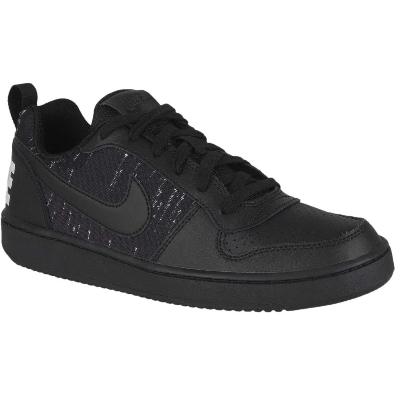 Nike nike court borough low se bg Plomo / negro Walking