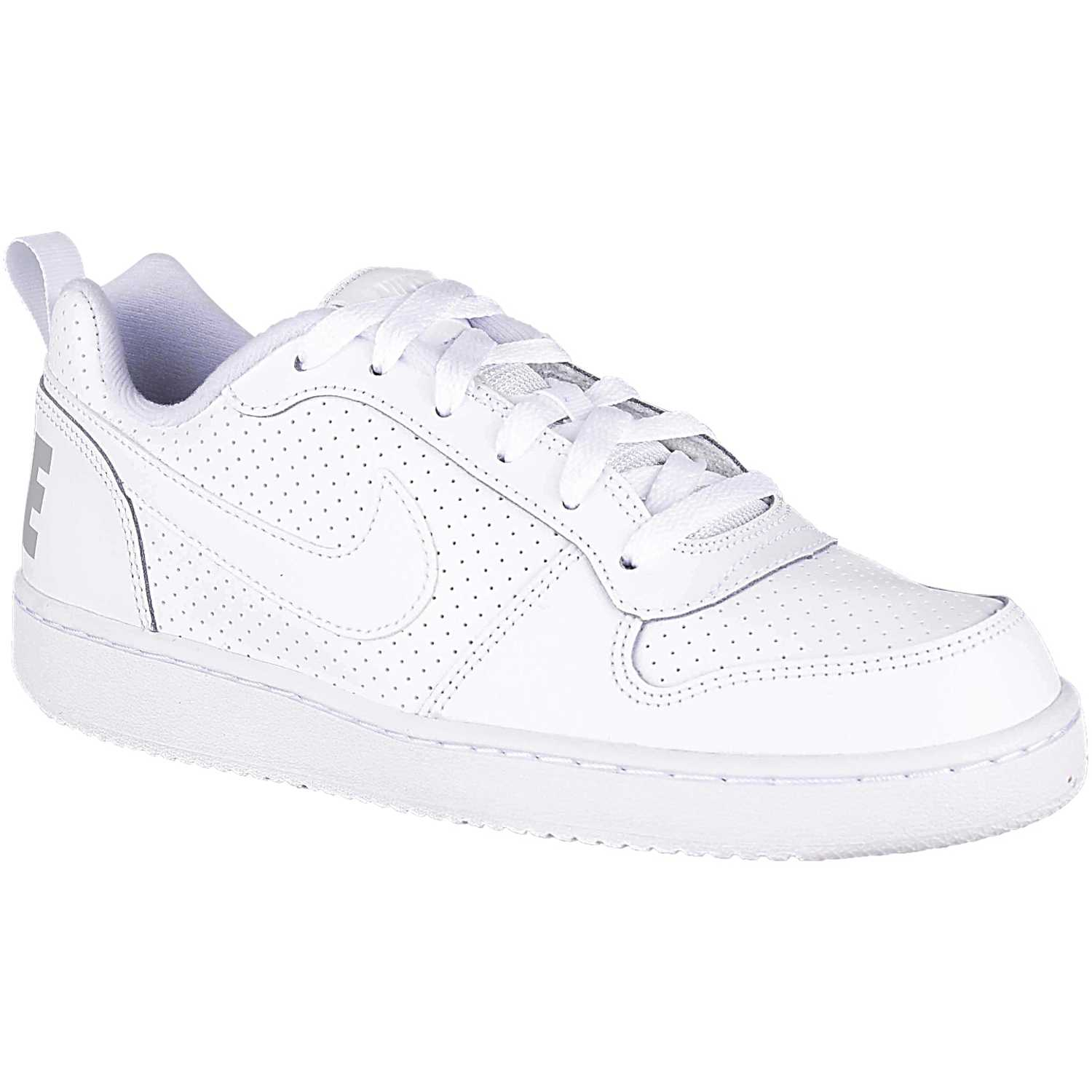 Nike NIKE COURT BOROUGH LOW BG BLANCO / BLANCO Walking