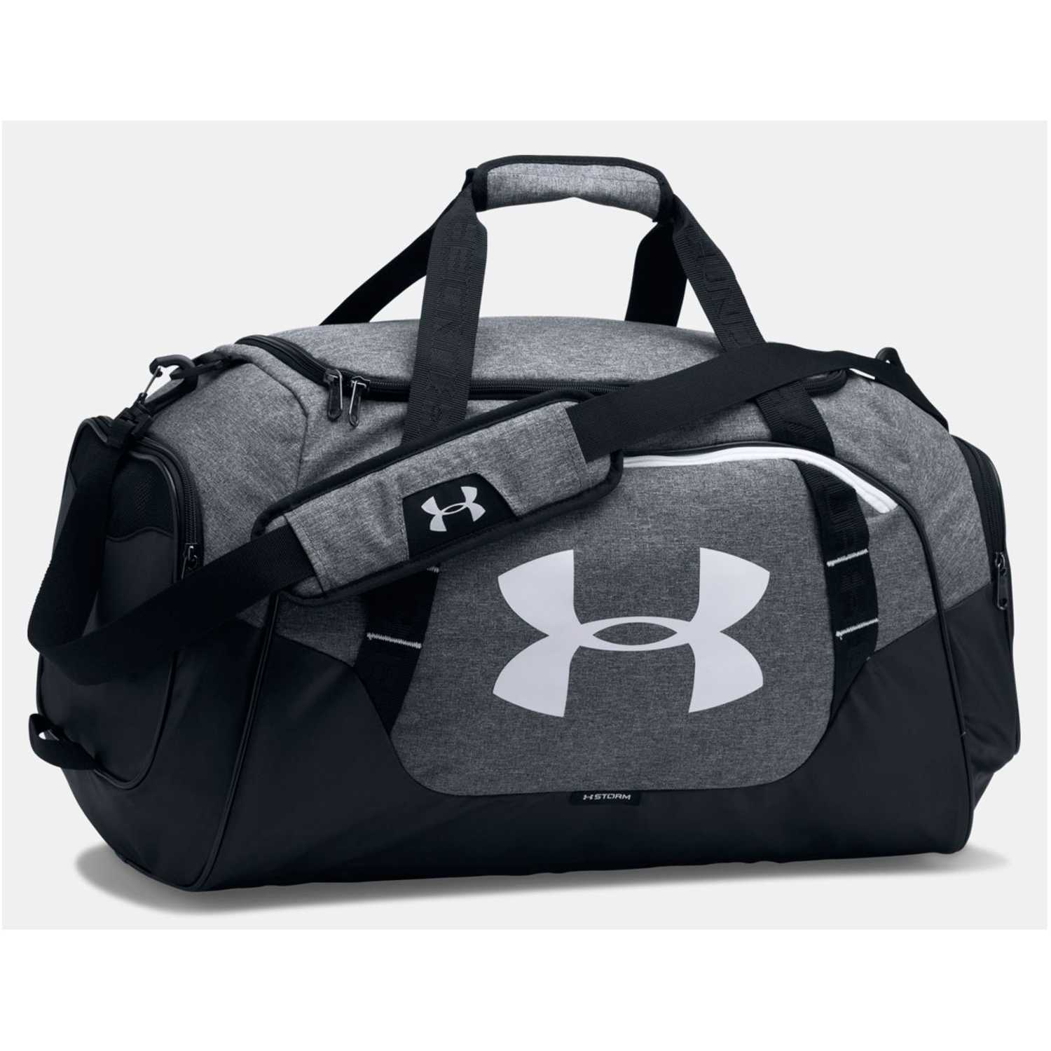 Under Armour ua undeniable duffle 3.0 md Gris / negro Duffels deportivos