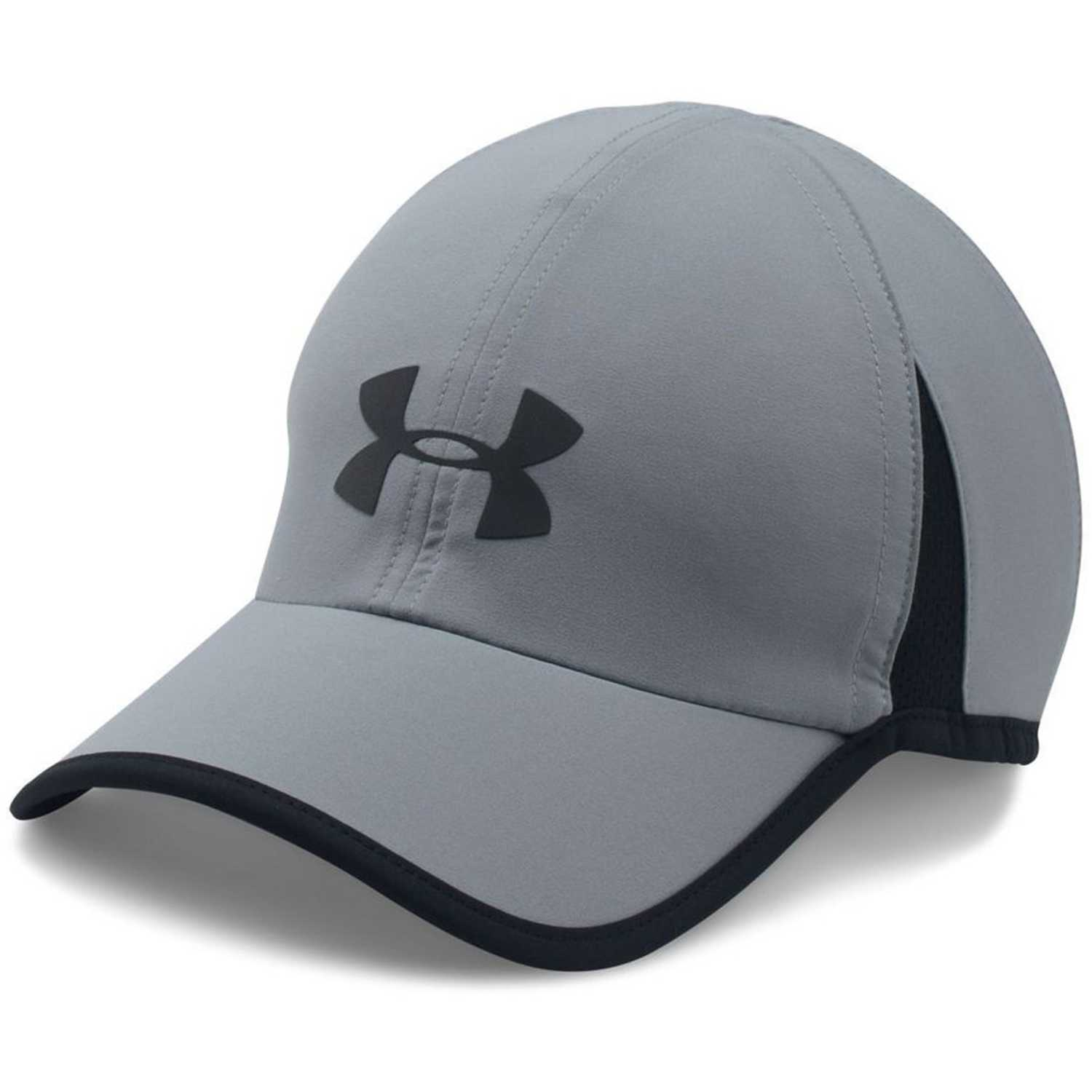 Under Armour Men'S Shadow Cap 4.0 Gris / negro Gorras de béisbol
