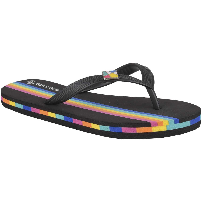 Platanitos sb 7175 Negro Flip-Flops