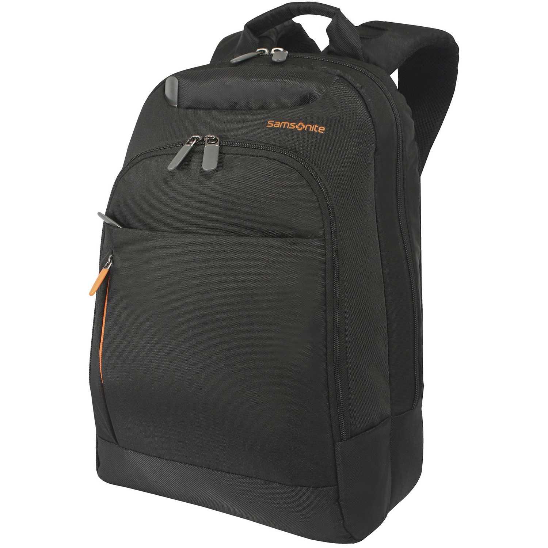 Samsonite backpack 14 black abc Negro Mochilas Multipropósitos
