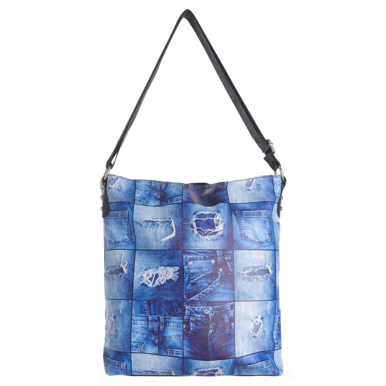 Platanitos dl086-1 Azul Carteras de Mano