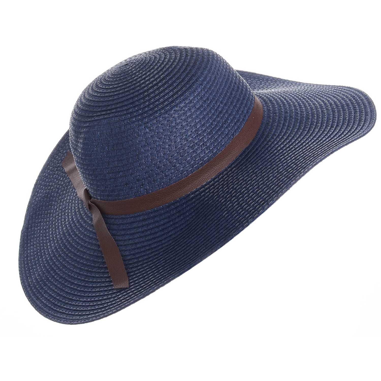 Casual de Mujer Platanitos Azul wlbb11266-hat