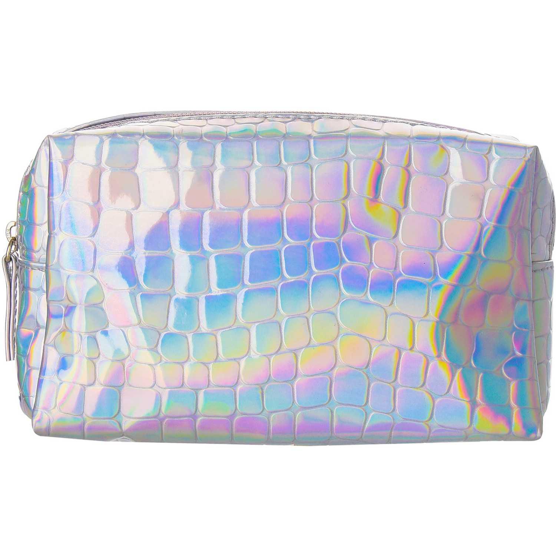 Platanitos PLE1198 Plateado Bolsa de cosméticos