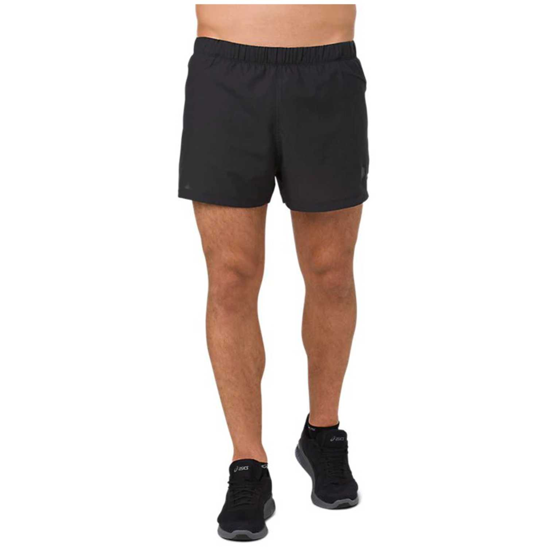 Asics Cool 3.5 In Short  Performance Black Negro Shorts Deportivos