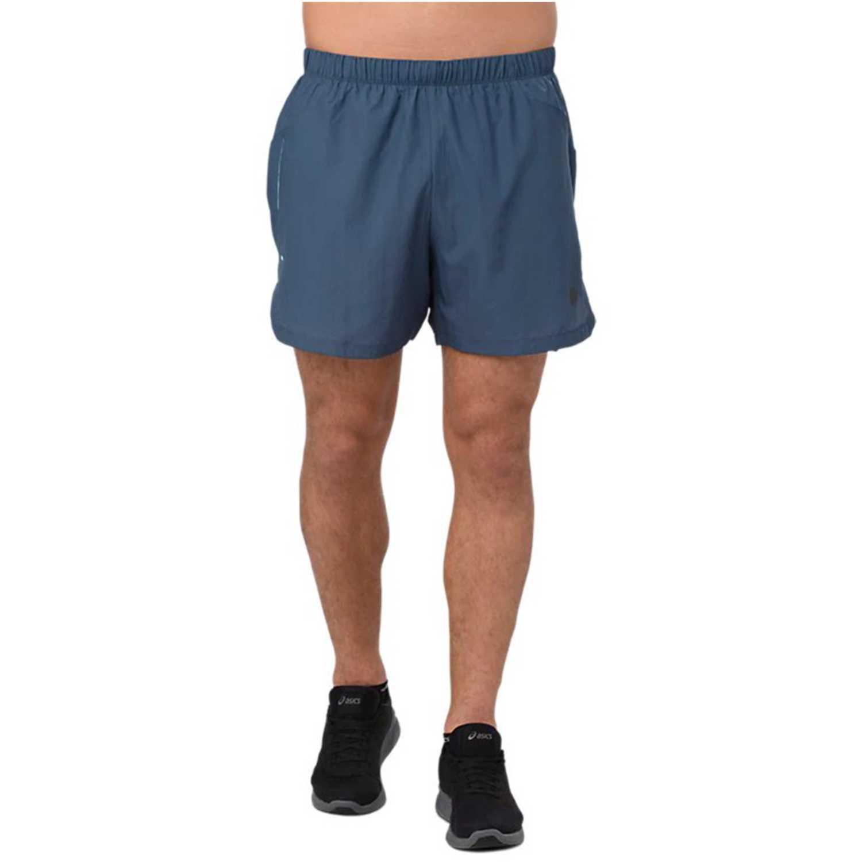 Short de Hombre Asics Acero cool 2-n-1 5in shortdark blue
