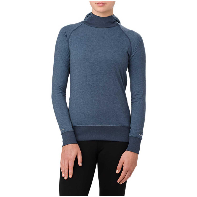 Deportivo de Mujer Asics Acero hoodie  dark blue heather