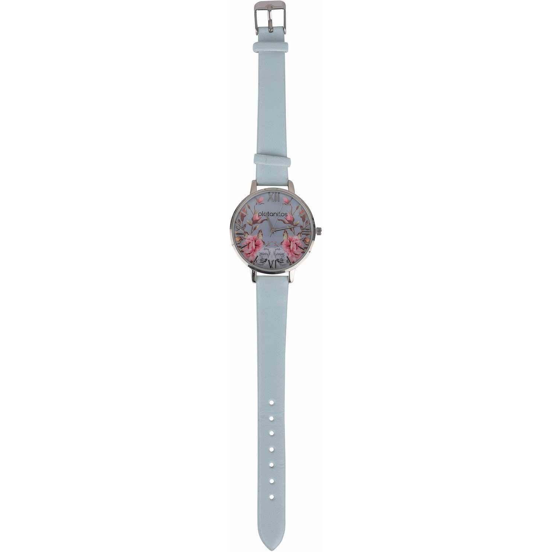 Platanitos lw5657p Celeste Relojes de Pulsera