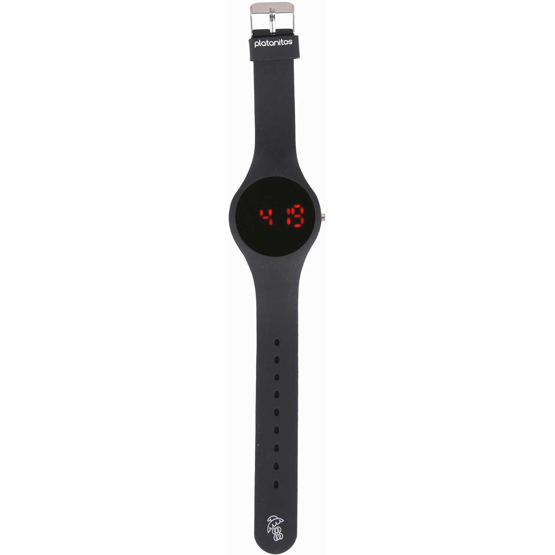Platanitos lwf111 Negro Relojes