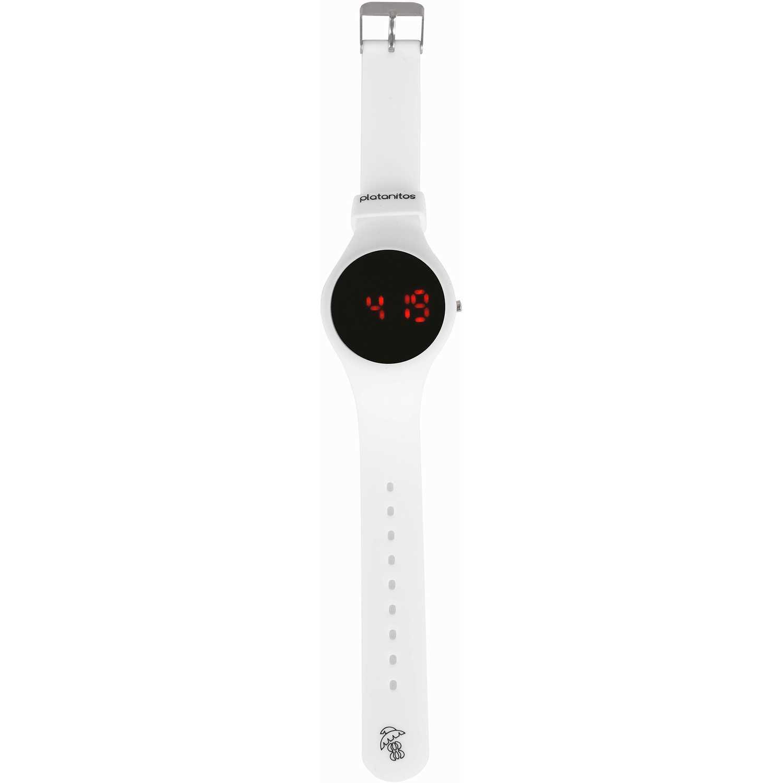 Platanitos LWF111 Blanco Relojes