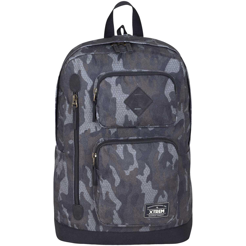 Deportivo de Hombre Xtrem Gris backpack hex camo wave 704