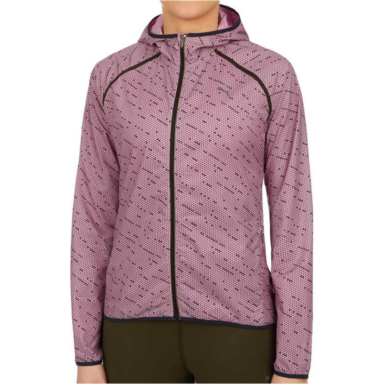 Puma lastlap graphic jacket w Rosado Pullovers