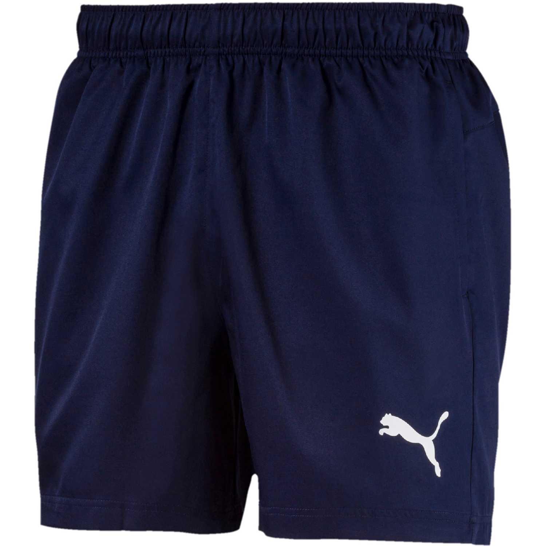 Puma active woven short 5 pulg Azul Shorts Deportivos