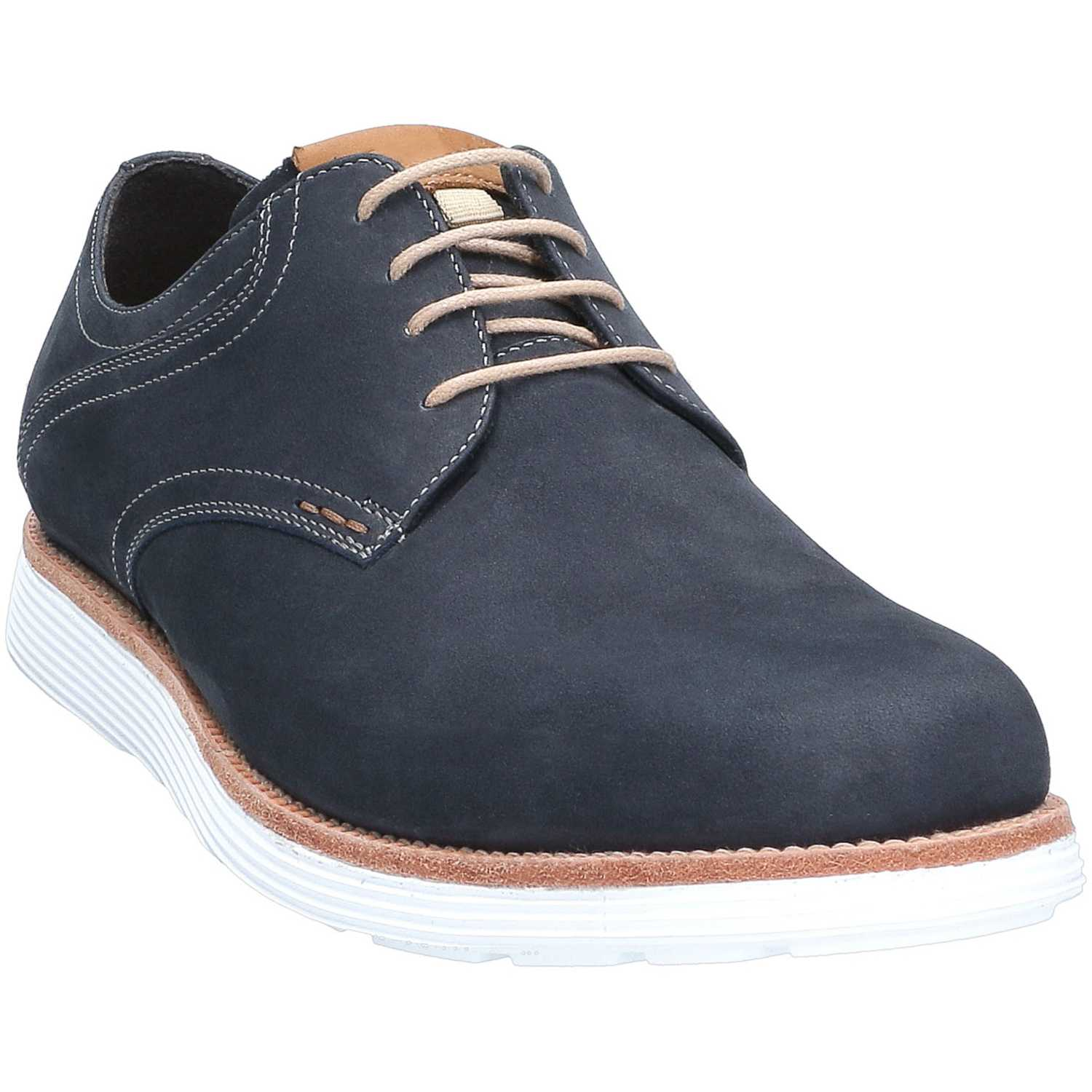 GUANTE prince Navy Oxfords