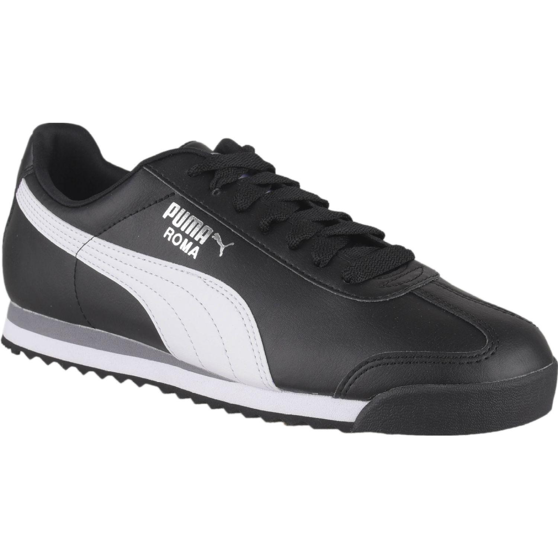Puma roma basic Negro / blanco Walking