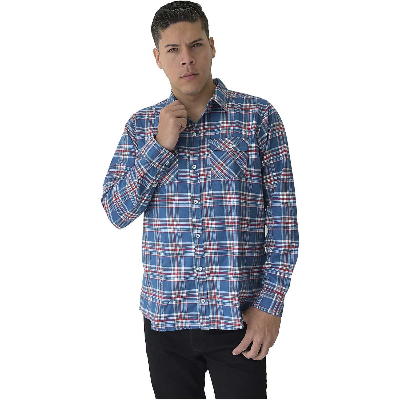 COTTONS JEANS americo Cobalto Camisas de botones
