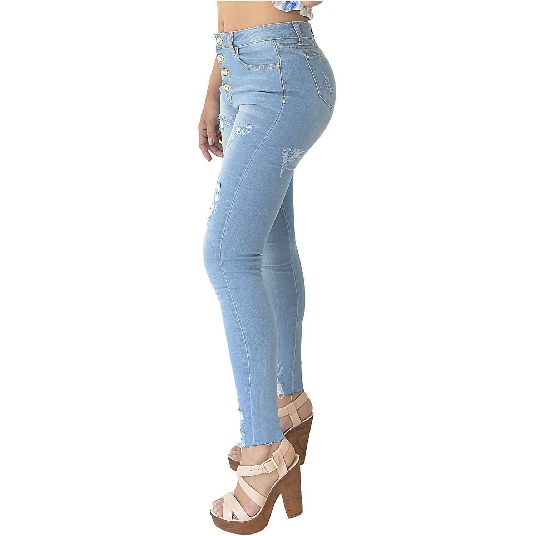 Jeans Carlota Cottons Jean Mujer De Celeste dxoCBer