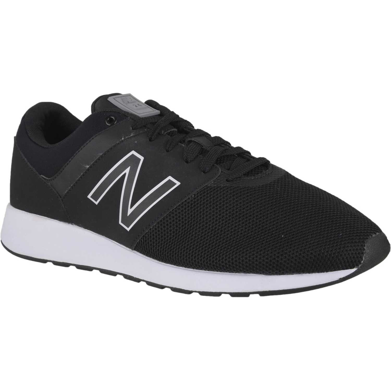 Casual de Hombre New Balance Negro / blanco mrl24ta