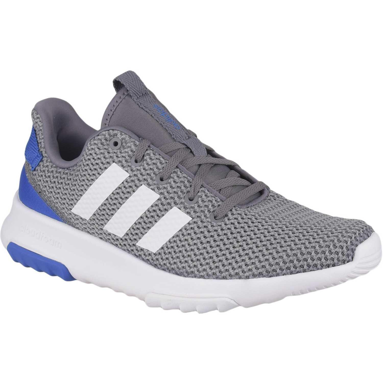 Adidas cf racer tr Gris Running en pista
