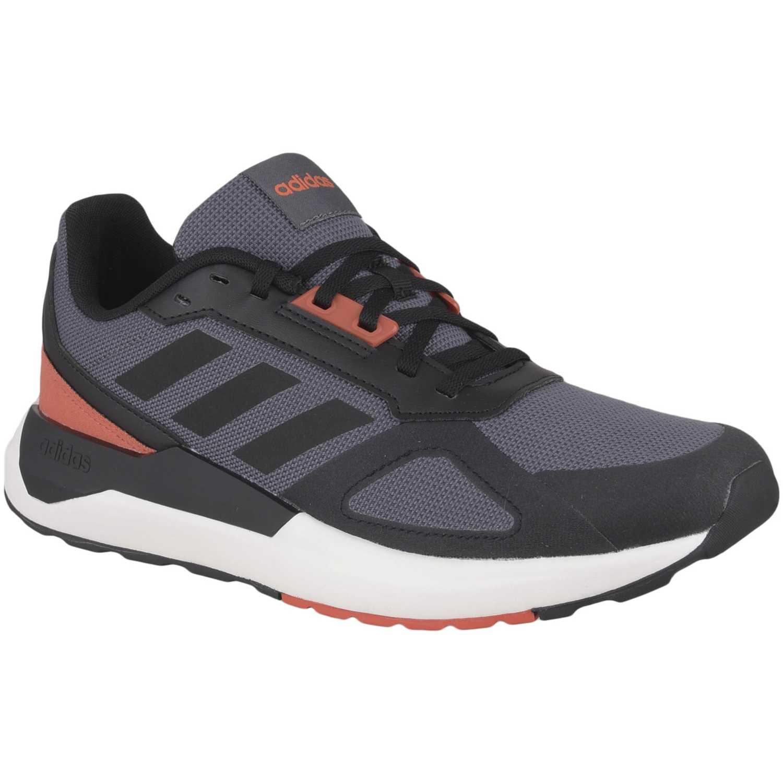 Adidas run80s Plomo Running en pista