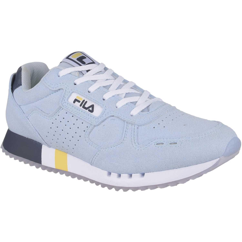 Fila classic 92 fem. Celeste / azul Walking