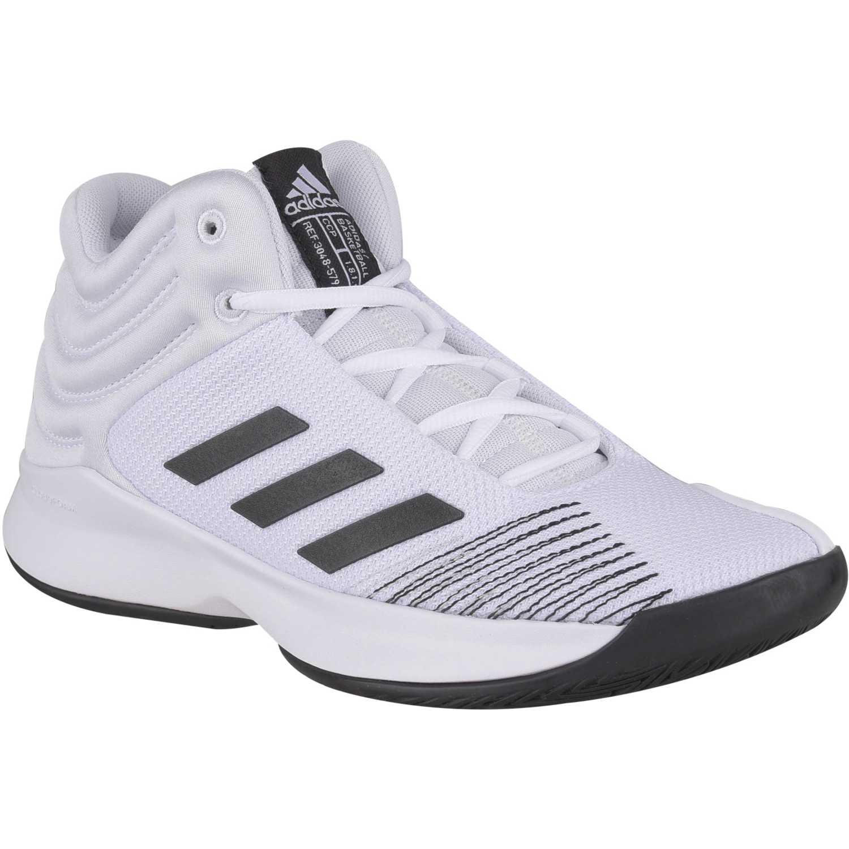 Adidas pro spark 2018 k Blanco Muchachos