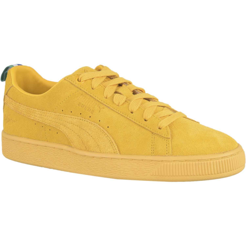 puma mujer zapatillas amarillas