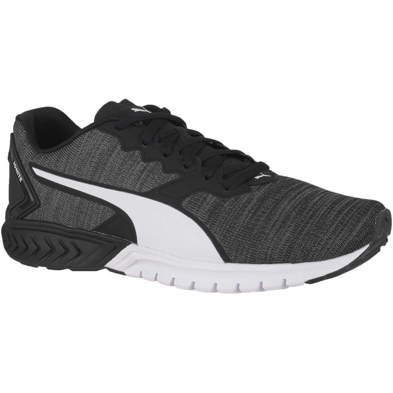 Puma ignite dual nm Negro / blanco Running en pista