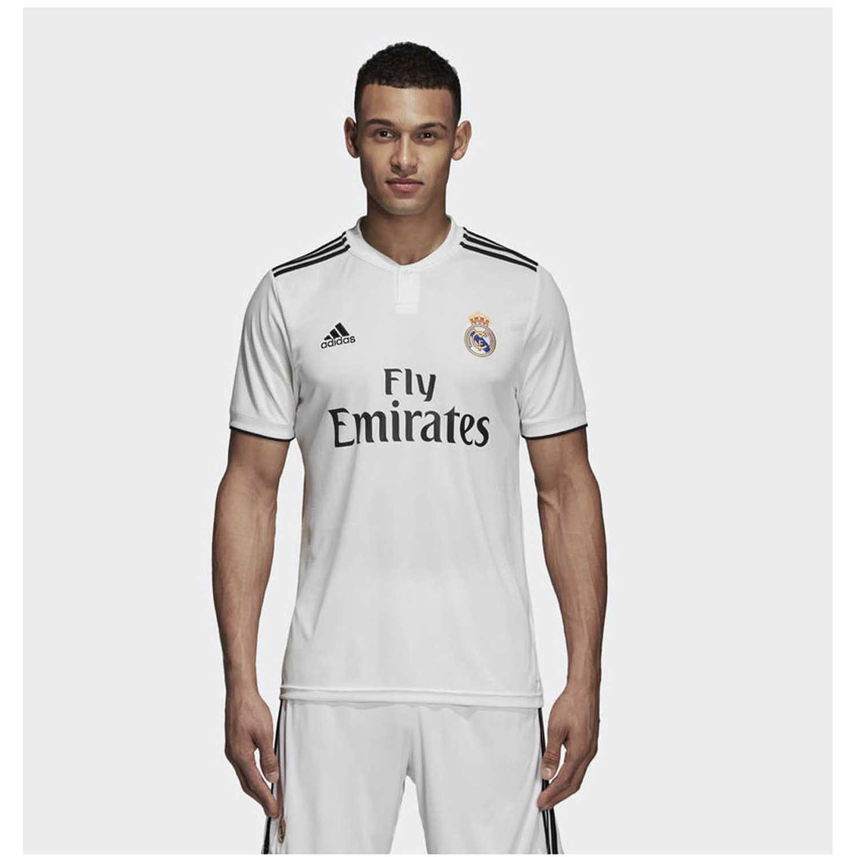 Adidas real h jsy Blanco Camisetas y Polos Deportivos